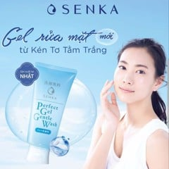 Gel rửa mặt Senka Perfect Gel Gentle Wash 100g
