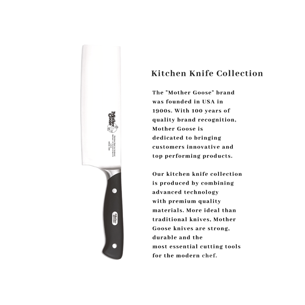 MOV STEEL NAKIRI KNIFE 7 INCH