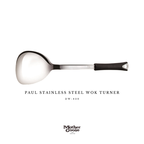 PAUL STAINLESS STEEL WOK TURNER
