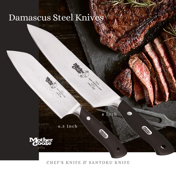 CLASSIC DAMASCUS KNIFE SET