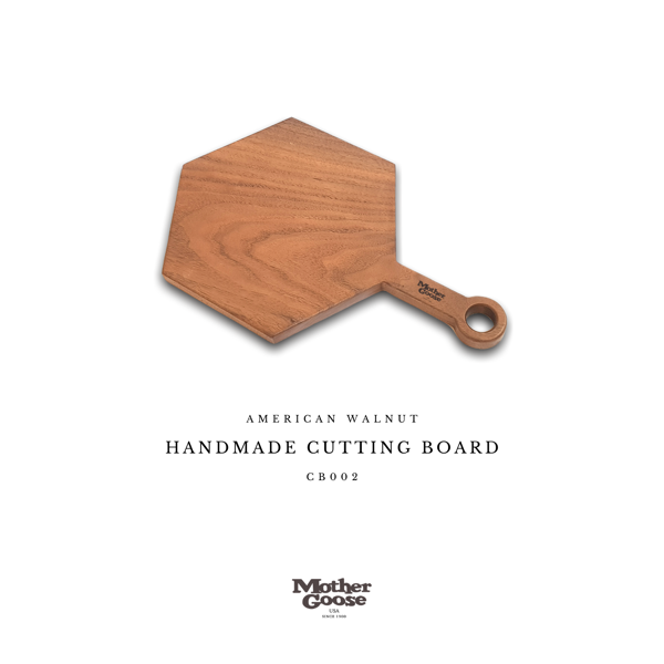 WALNUT CUTTING & SERVING BOARD - POLYGON