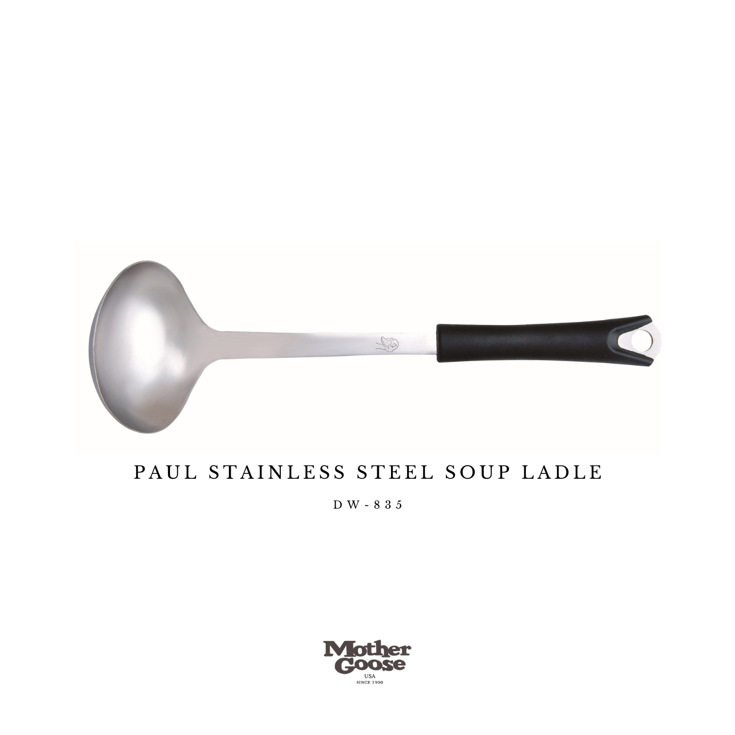 PAUL STAINLESS STEEL SOUP LADLE