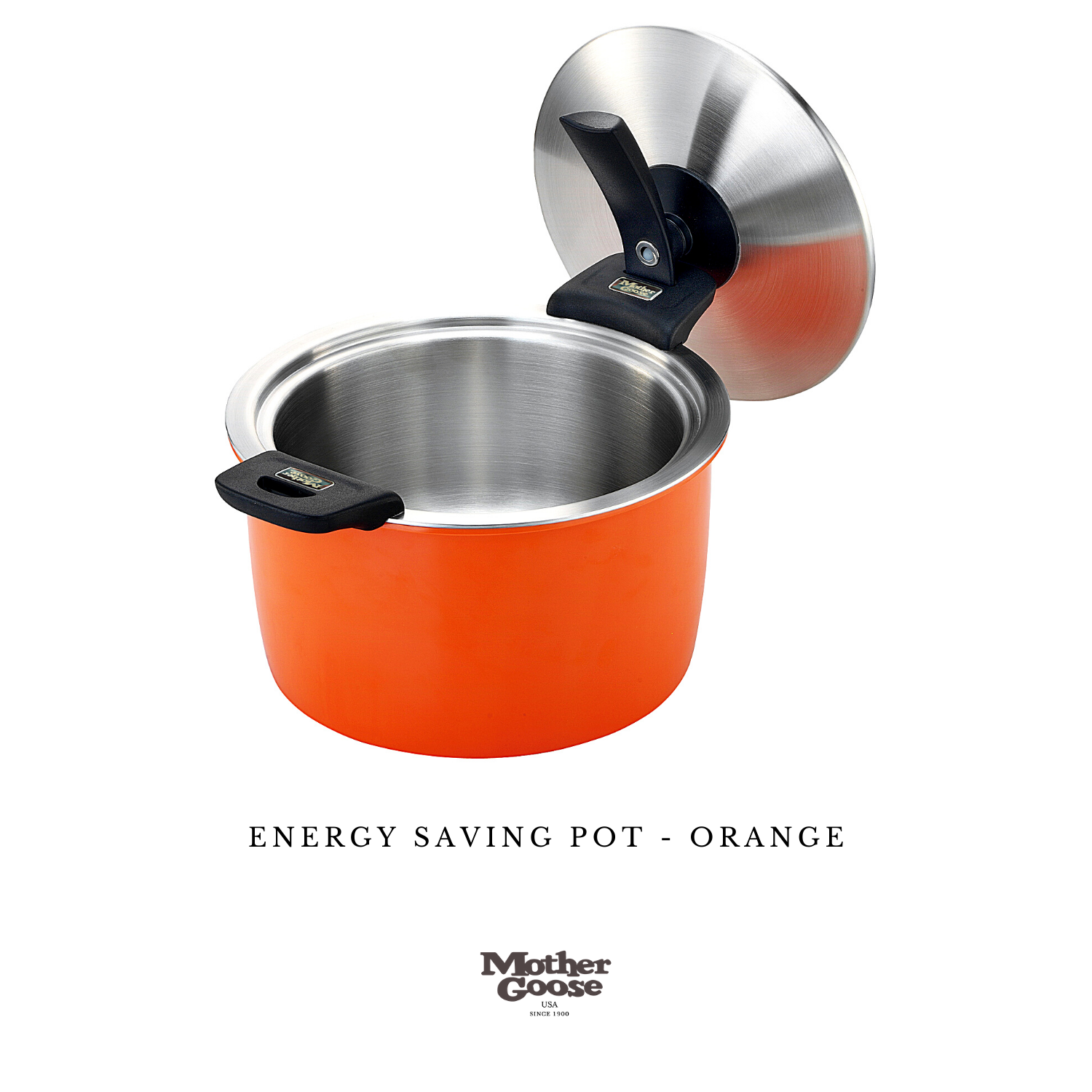 ENERGY SAVING POT-ORANGE 24CM
