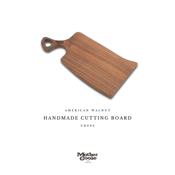 WALNUT CUTTING & SERVING BOARD - CURVY