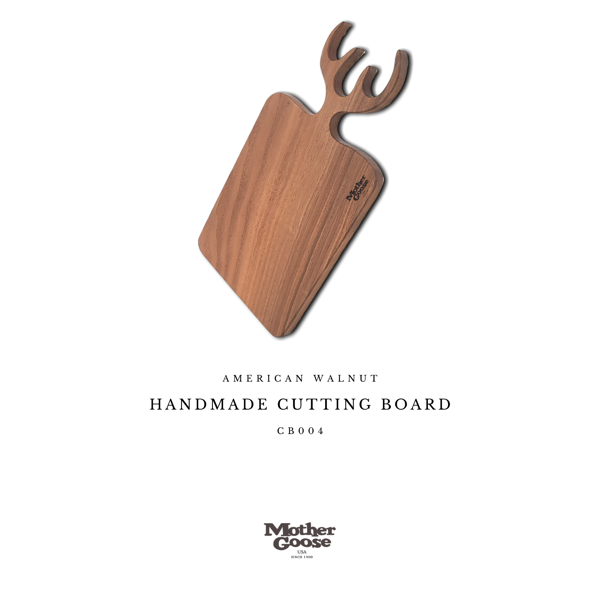 HANDMADE CUTTING BOARD - ANTLER
