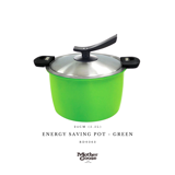 ENERGY SAVING POT-GREEN 24CM