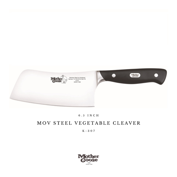MOV STEEL VEGETABLE CLEAVER 6.5 INCH