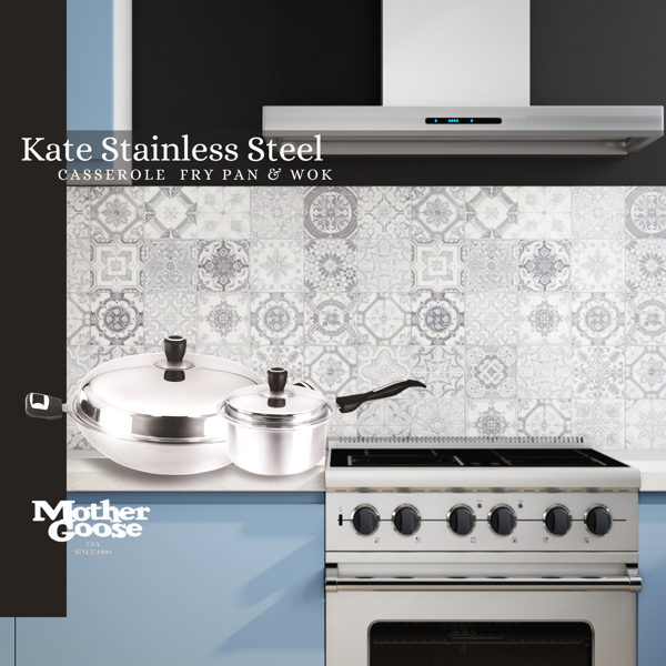 KATE STAINLESS STEEL