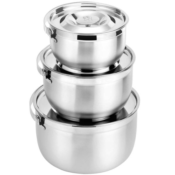 KERRY STAINLESS STEEL COOKWARE SET