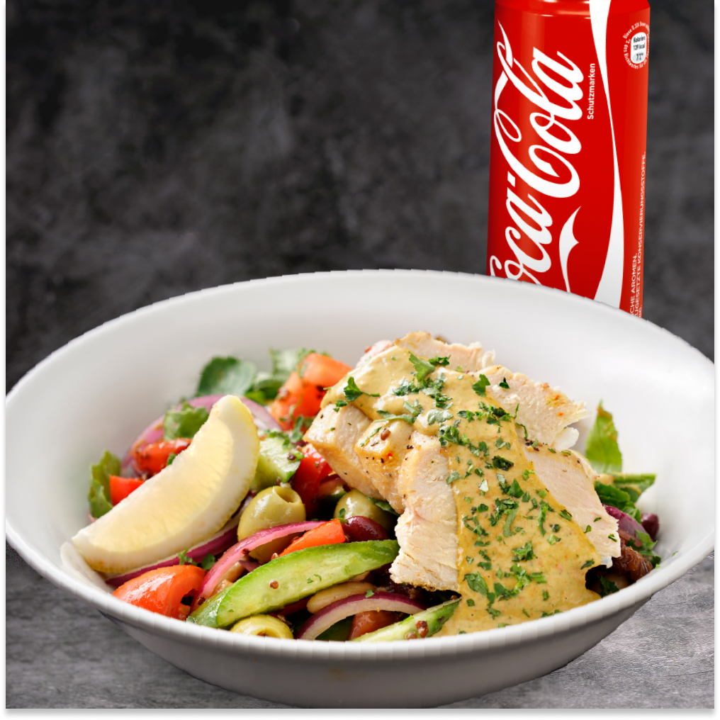 Combo Salad CBJ Saloon