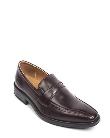 Giày Da Pierre Cardin Penny Loafer Cement - PCMFWLB046