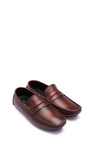 Giày Driving Cao Cấp Pierre Cardin - PCMFWLE 502 - In Memories of Pierre Cardin (Brown)