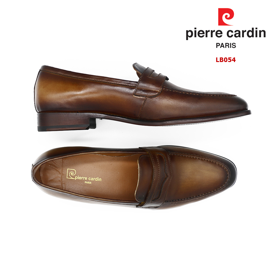 PIERRE CARDIN LEATHER SHOES - PCMFWLB 054