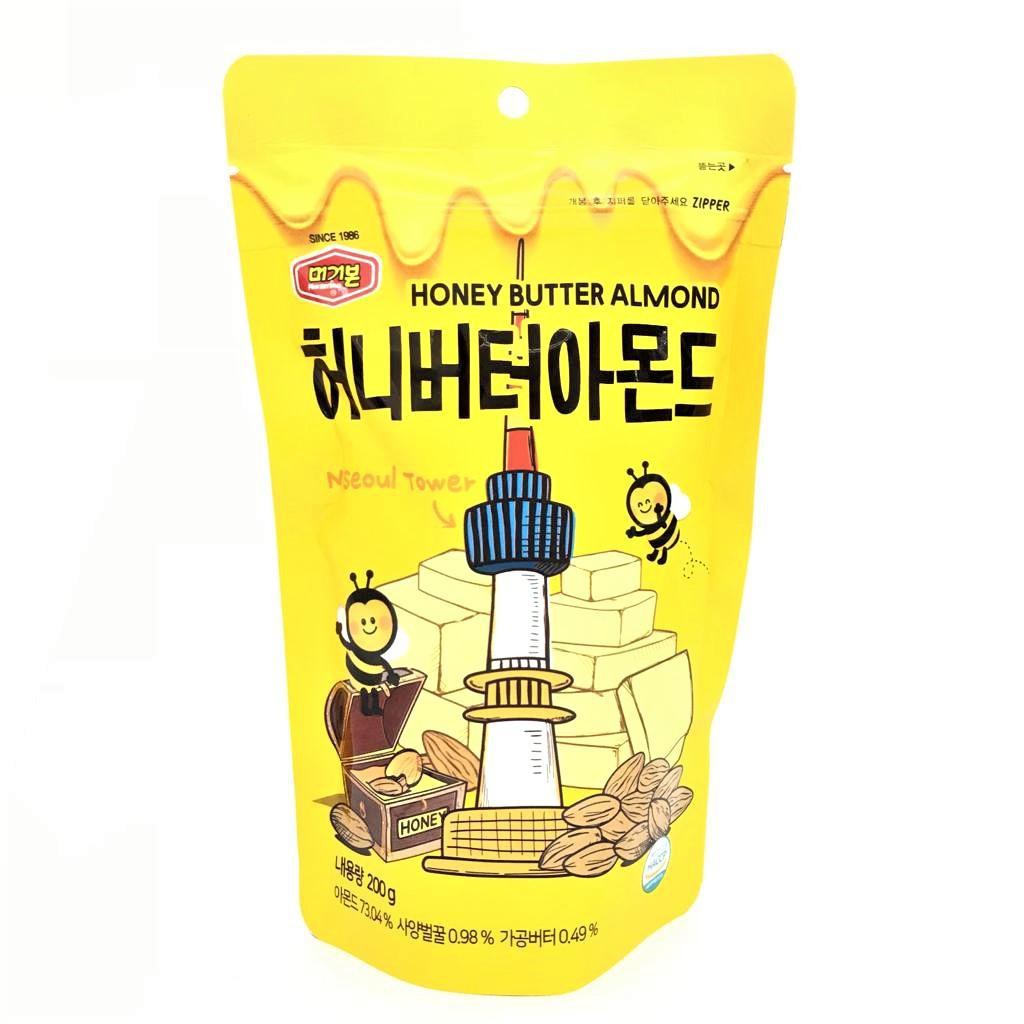 Hạnh nhân vị mật ong Murgerbon Hàn Quốc 200g