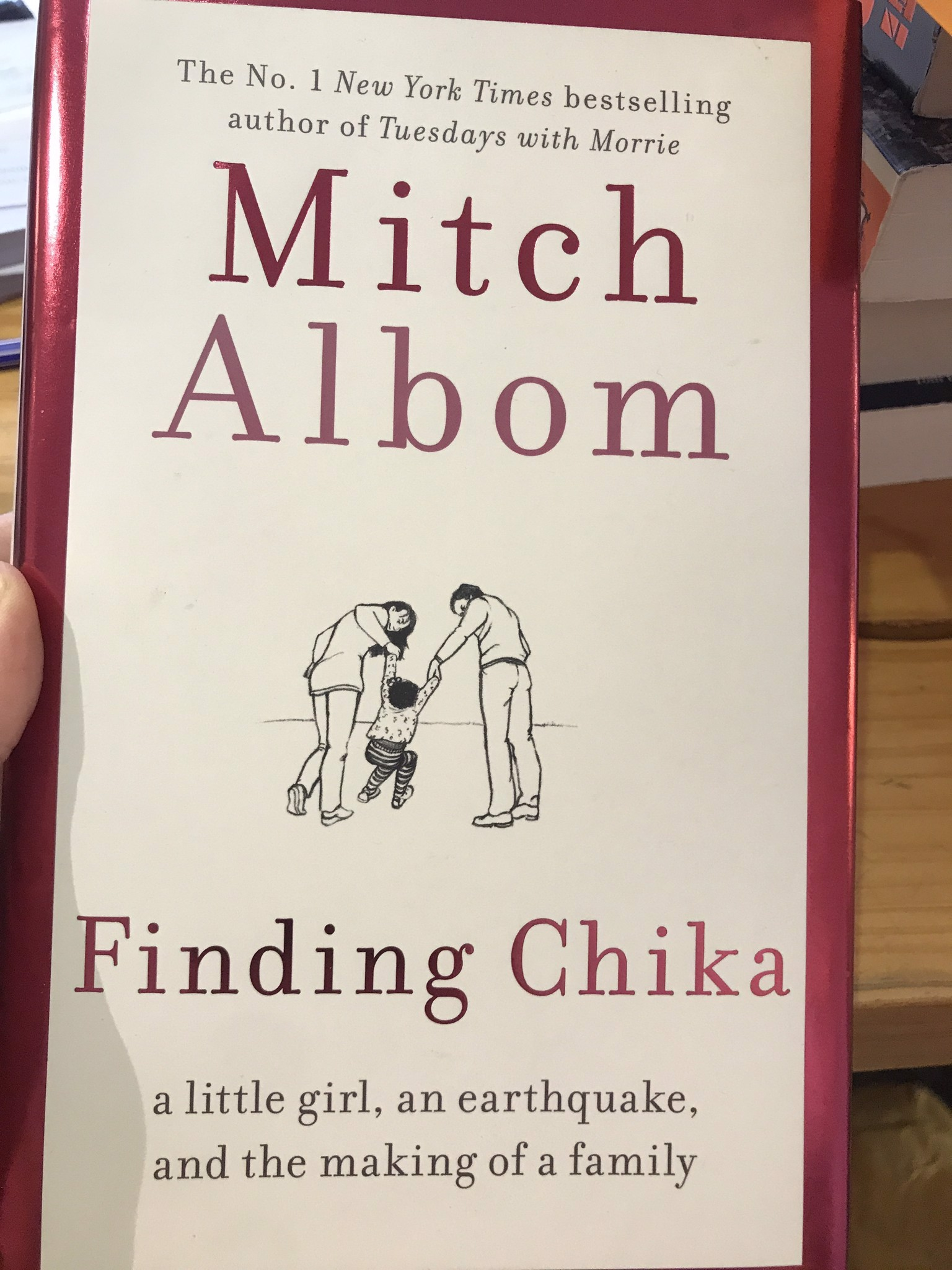 Finding Chika by Mitch Albom