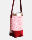WFlower oPink Bottle Bag