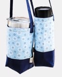 WFlower oBlue Bottle Bag