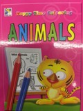ACTIVITY BOOK - HAPPY TIME COLOURING ANIMALS(CHEE