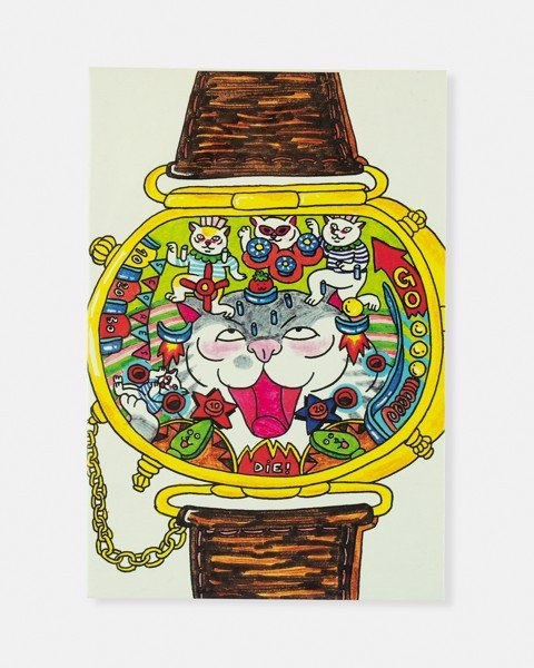 Pinball Watch Postcard