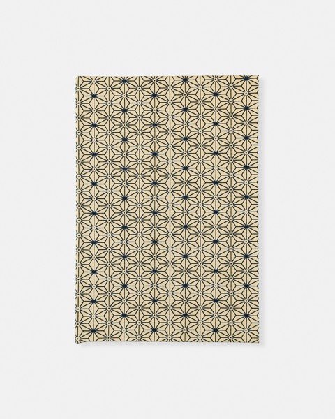 Japanese Beige Fabric Notebook