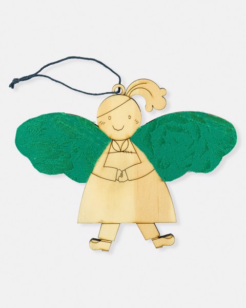 Small Wooden Angel