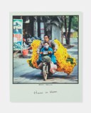 Hanoi In Bloom (Motorbike) Postcard