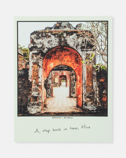 A Step Back In Time, Hue Postcard