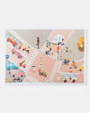 Traffic Risograph Poster