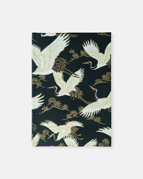 Bird Fabric Notebook