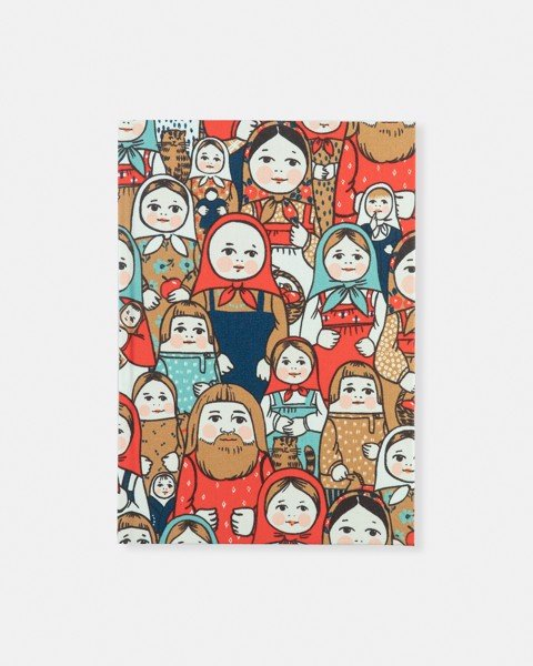 Doll Fabric Notebook