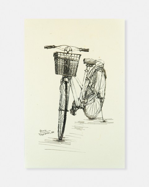 Bicycle Rice Paper