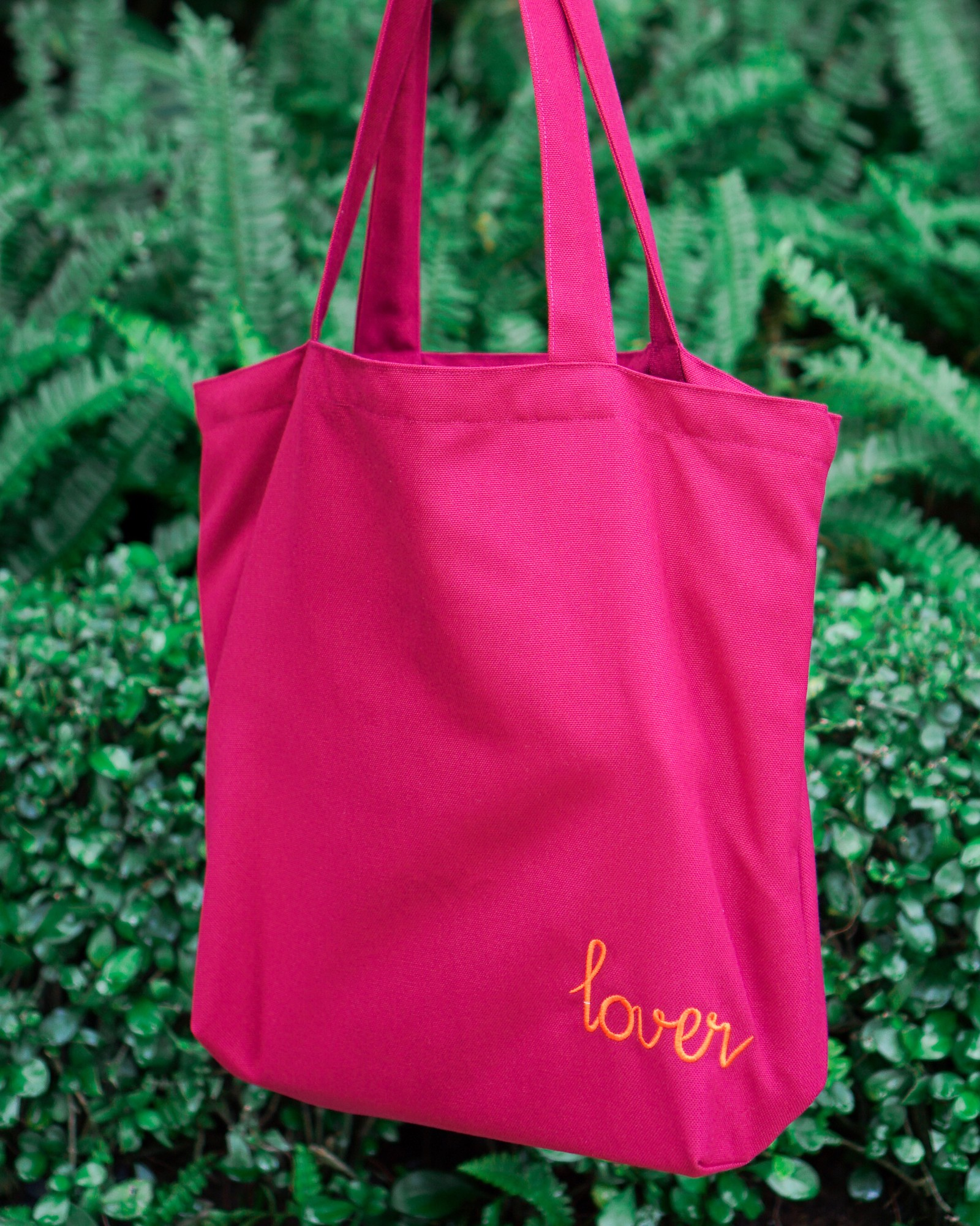 Red Lover Tote Bag