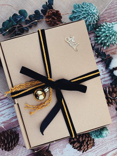 Black & Yellow Gift Box