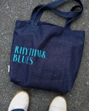 Rythm And Blue Tote Bag
