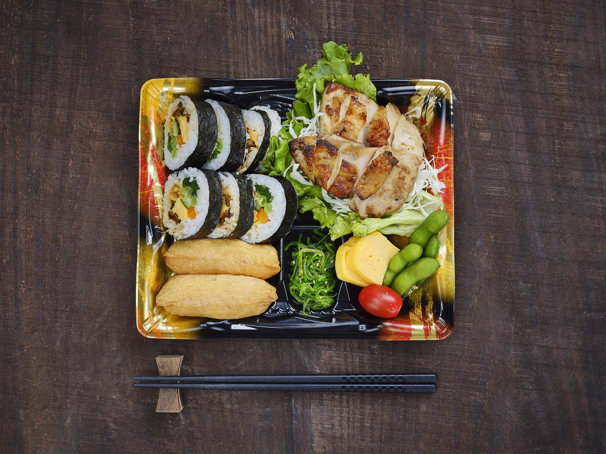 Futomaki & Teriyaki Chicken