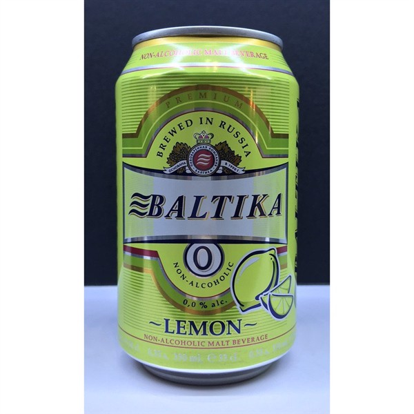 B.B.I-Beer Baltila Lemon Non-Alcohol 330ml T4