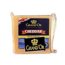DC-Cheddar Color Cheese Grand'Or 200g