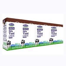 DMF-Chocolate UHT Fresh Milk Vinamilk 110ml