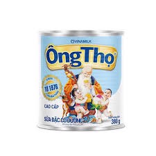 DMC-Sweetened Condensed Milk Ông Thọ 380g (White)