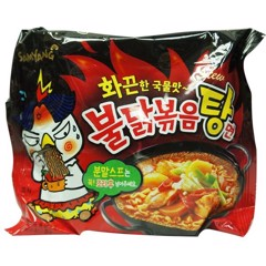 NDI-Hot Chicken Ramen Stew Samyang 145g