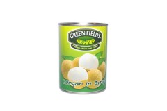 FRT-Longan In Syrup Green Field 565g