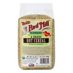 GR-6 Grain Hot Cereal w. Flaxseed Bob's Red Mill 680g