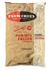 VEF-French Fries 10mm Farm Frites 2,5Kg