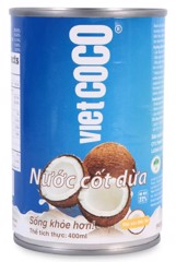 DM-Coconut Milk Vietcoco 400ml (Blue)