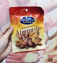 N-Honey Roasted Almonds 30g