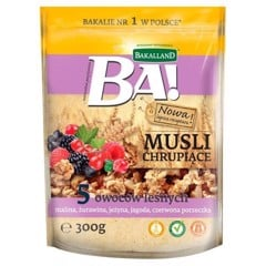 G-Bakalland Crunchy Muesu 5 Forest Fruits& Honey 300g
