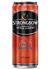 BBI-Red Berries Strongbow 330ml (Can)