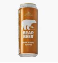 BBI-Bear Beer Dark Wheat 5.4% 500ml