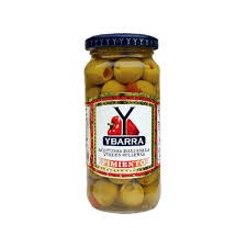 PK-Chilli Stuffed Olives Ybarra 240g