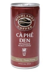 CF-Black Coffee Highland 185ml
